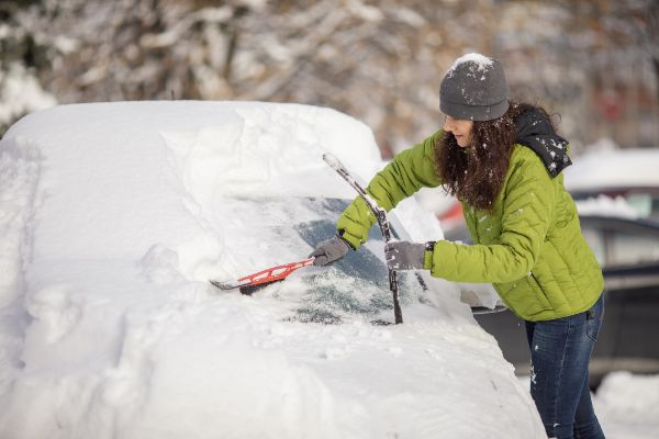 Brush The Snow Off Your Car. It's The Law! Almost.